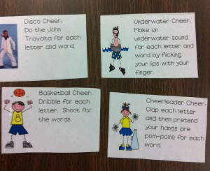 Fun Spelling Chants and Cheers