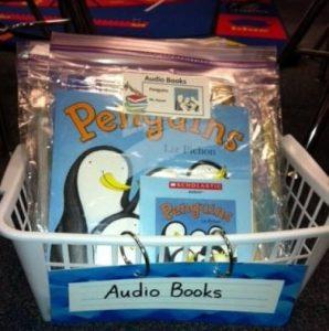 Audio Book Labels