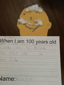 When I am 100 years old writing!