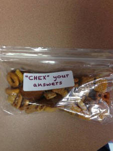 CHEX your Answers
