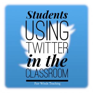 Twitter Tweet Student Template