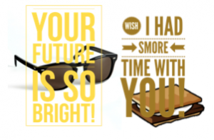 I wish I had SMORE time with you!
