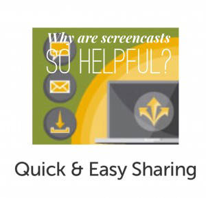 Why are screencasts so helpful?