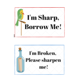 Broken and Sharpened pencils