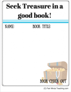 Seek Treasure in a Good Book!