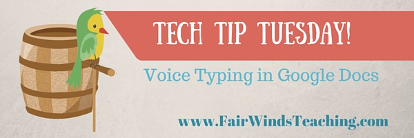 Typing Tool in Google Document