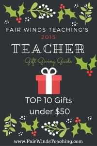 The 2015 Teacher's Gift Giving Guide