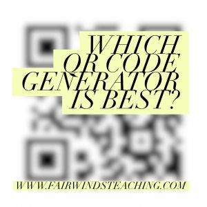 Which QR Code generator is best?