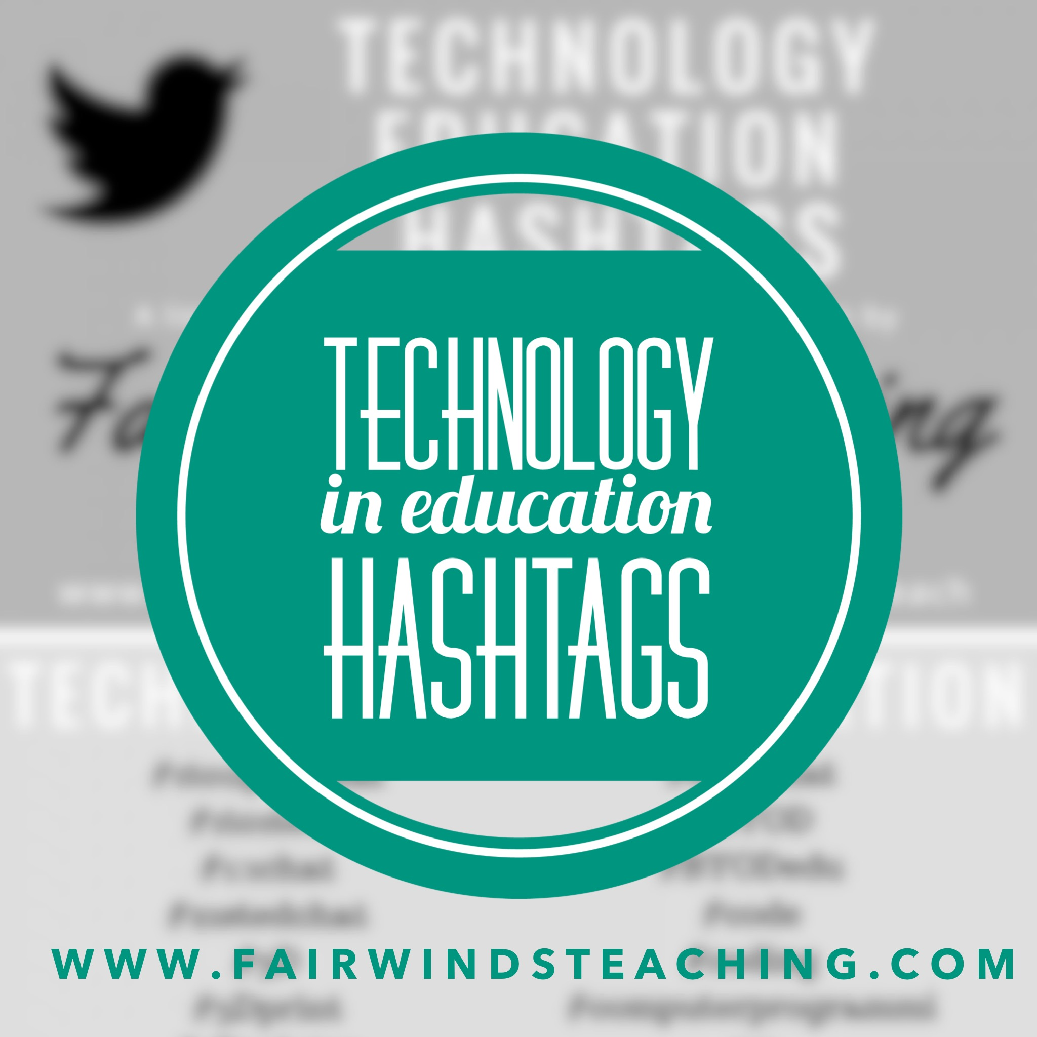 Technology in Education Hashtags