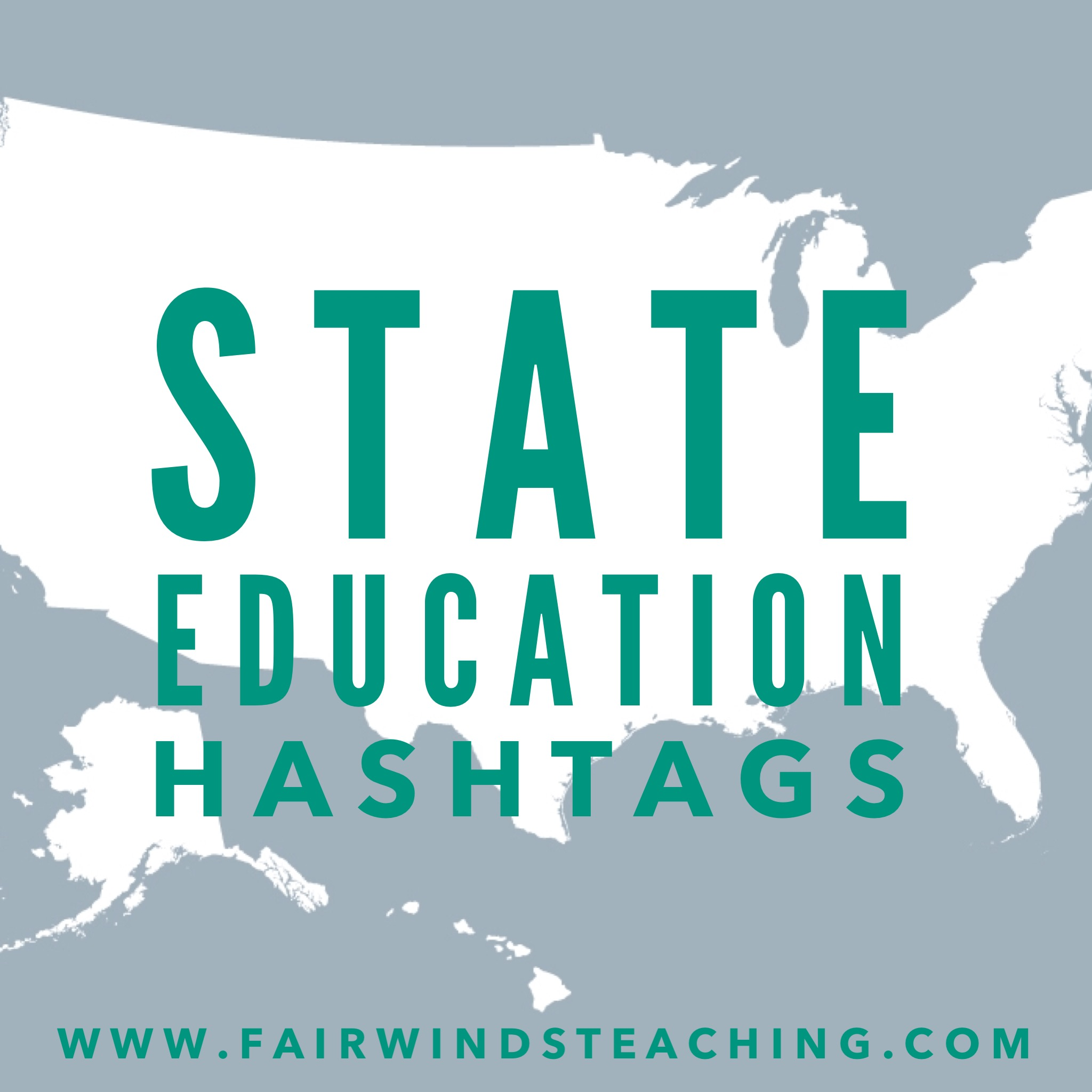 State Education Hashtags