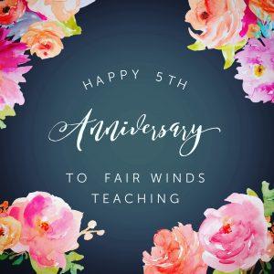 Happy 5th Anniversary!