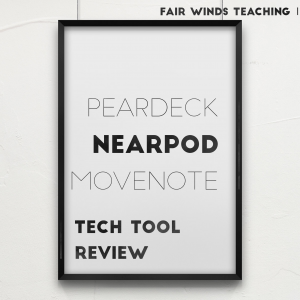 Presentation Tech Tool Review for Teachers