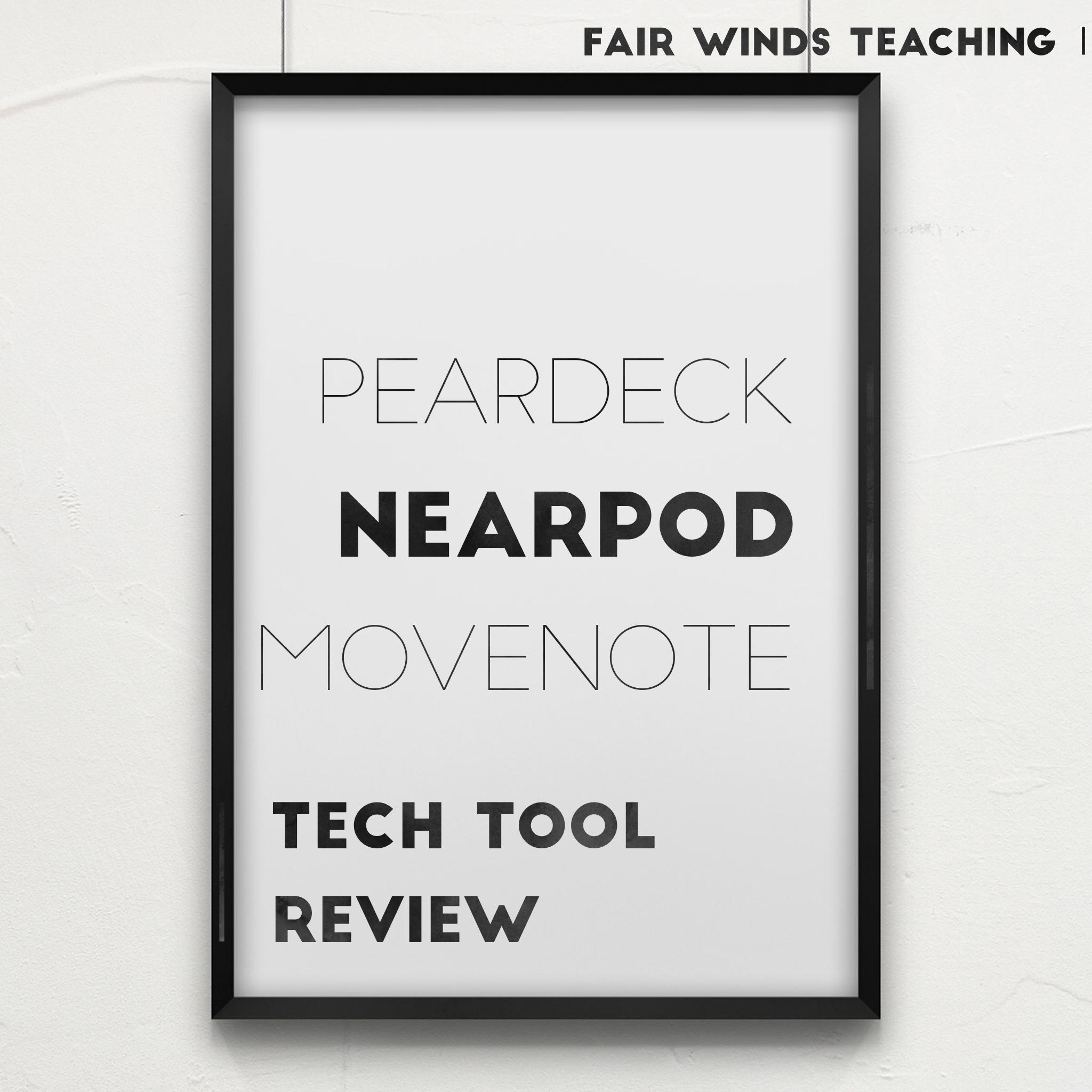 Presentation Tech Tool Review for Teachers
