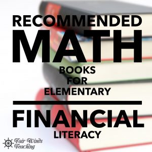 Recommended Math Books for Elementary Financial Literacy